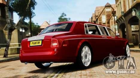 Rolls-Royce Phantom LWB V2.0 pour GTA 4 est une gauche