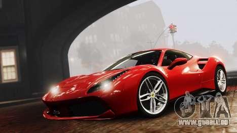 Ferrari 488 GTB 2016 pour GTA 4
