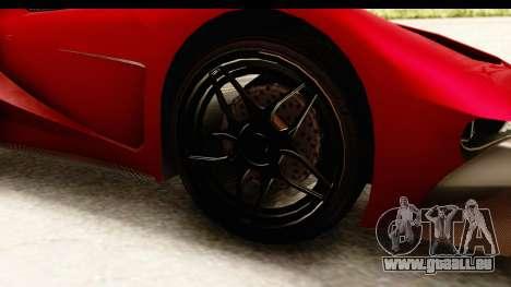 GTA 5 Vapid FMJ IVF für GTA San Andreas Rückansicht