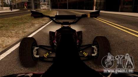 Quad Graphics Skull für GTA San Andreas Rückansicht