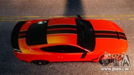 Shelby GT350R 2016 für GTA 4 Rückansicht