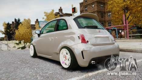 Fiat 500RB für GTA 4 linke Ansicht