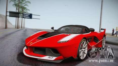 Ferrari FXX-K 2015 für GTA San Andreas