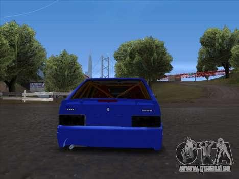 VAZ 2114 Sport pour GTA San Andreas vue arrière