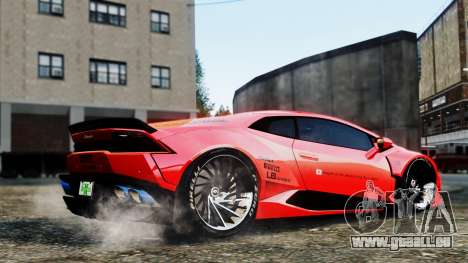 Lamborghini Huracan LB pour GTA 4 est un droit