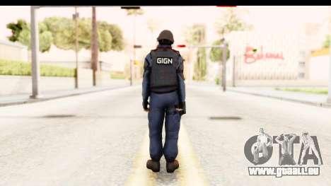 CS:GO - GIGN pour GTA San Andreas troisième écran