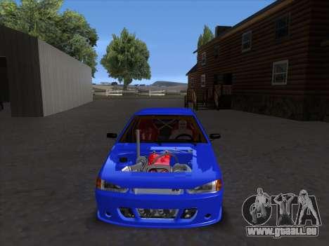 VAZ 2114 Sport pour GTA San Andreas vue de côté