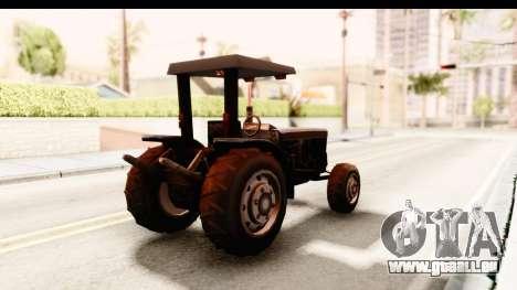 Modern Tractor pour GTA San Andreas vue de droite
