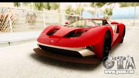 GTA 5 Vapid FMJ IVF für GTA San Andreas