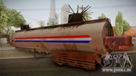 Mack R600 v2 Trailer für GTA San Andreas linke Ansicht