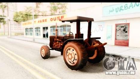 Modern Tractor pour GTA San Andreas laissé vue