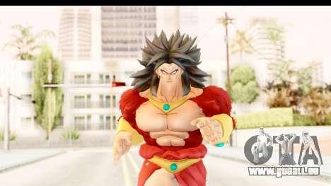 Dragon Ball Xenoverse Broly SSJ4 für GTA San Andreas