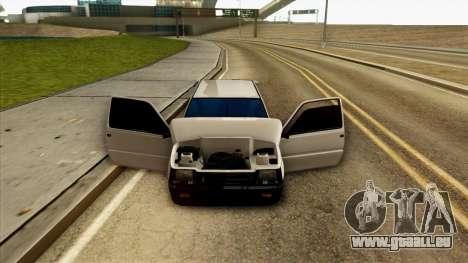 VAZ 1111 pour GTA San Andreas vue intérieure