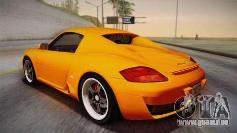 Ruf RK Coupe (987) 2007 IVF für GTA San Andreas linke Ansicht