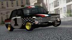 VAZ 2101 ist ein Rennwagen