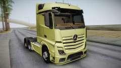 Mercedes-Benz Actros Mp4 6x4 v2.0 Steamspace für GTA San Andreas