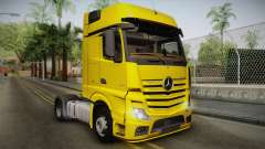 Mercedes-Benz Actros Mp4 4x2 v2.0 Gigaspace v2 für GTA San Andreas