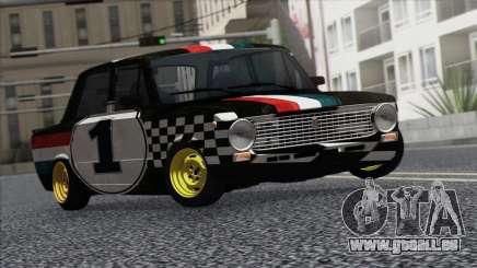 VAZ 2101 ist ein Rennwagen für GTA San Andreas