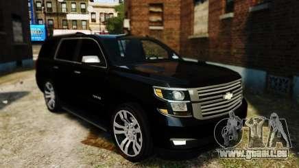 Chevrolet Tahoe 2015 V1.1 pour GTA 4