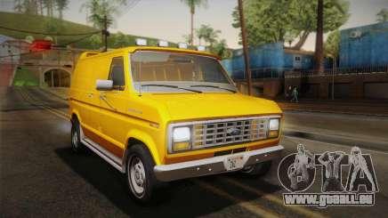 Ford E-150 Commercial Van 1982 2.0 IVF für GTA San Andreas