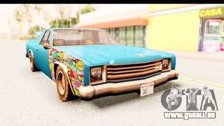 Picador Sticker Bomb pour GTA San Andreas