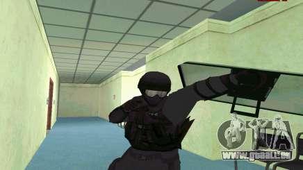 La peau de SWAT GTA 5 (PS3) pour GTA San Andreas