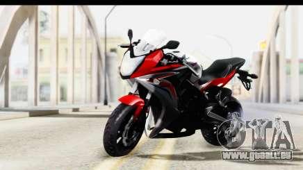 Honda CBR650F für GTA San Andreas