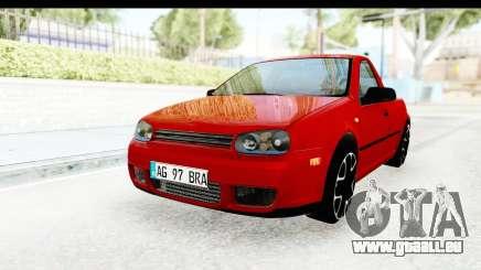 Volkswagen Golf Mk4 Pickup pour GTA San Andreas