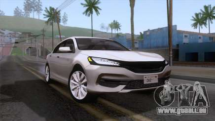 Honda Accord 2017 Stock pour GTA San Andreas