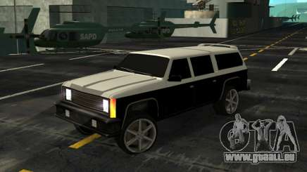 FBI Rancher Tuning pour GTA San Andreas