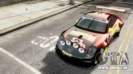 Porsche Rallye Vespas 911 GT3 RSR für GTA 4