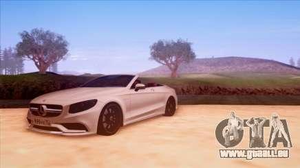 Mercedes-Benz S63 für GTA San Andreas