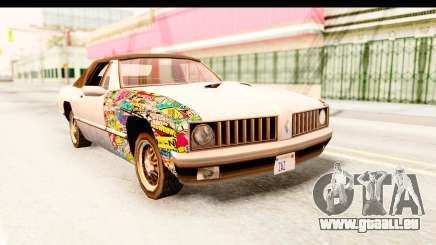 Stallion Sticker Bomb für GTA San Andreas