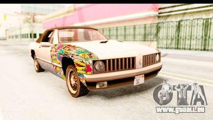 Stallion Sticker Bomb für GTA San Andreas