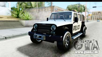 Canis Mesa Police pour GTA San Andreas
