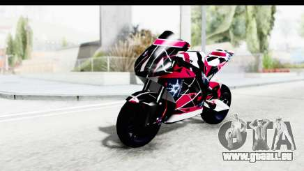 Dark Smaga Motorcycle with Frostbite 2 Logos pour GTA San Andreas