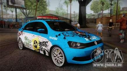 Volkswagen Voyage G6 Pmerj Graffiti pour GTA San Andreas