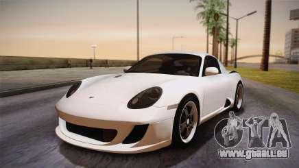 Ruf RK Coupe (987) 2007 HQLM pour GTA San Andreas