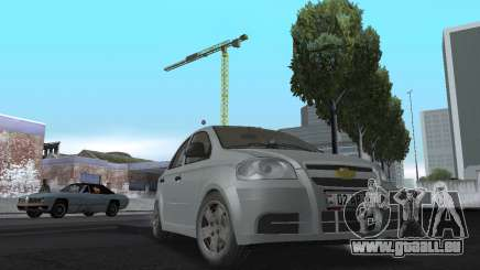 Chevrolet Aveo Armenian pour GTA San Andreas