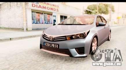 Toyota Corolla 2014 IVF für GTA San Andreas