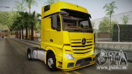 Mercedes-Benz Actros Mp4 4x2 v2.0 Gigaspace v2 pour GTA San Andreas