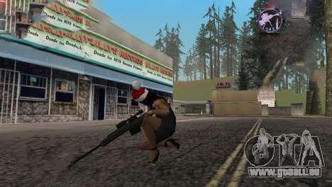 Heavysniper rifle pour GTA San Andreas quatrième écran