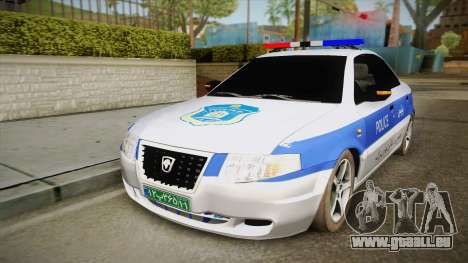 Ikco Samand Police v2 für GTA San Andreas