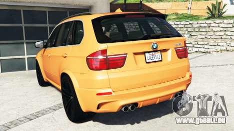GTA 5 BMW X5 M (E70) 2013 v1.0 [add-on] arrière vue latérale gauche