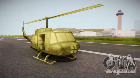 Bell UH-1H from Army Men: Serges Heroes 2 DC für GTA San Andreas