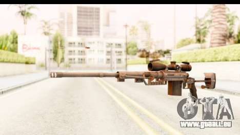 Cheytac M200 Intervention Black pour GTA San Andreas