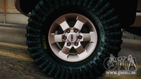 Toyota Daihatsu Terios 2000 für GTA San Andreas zurück linke Ansicht