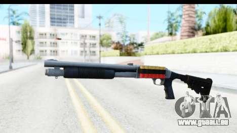 Tactical Mossberg 590A1 Chrome v2 für GTA San Andreas