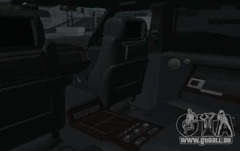 Land Rover Range Rover Vogue pour GTA San Andreas vue de côté