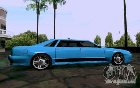 Elegy Sedan für GTA San Andreas linke Ansicht